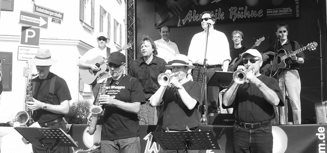 The Magictones auf dem Zollhausfest 2008