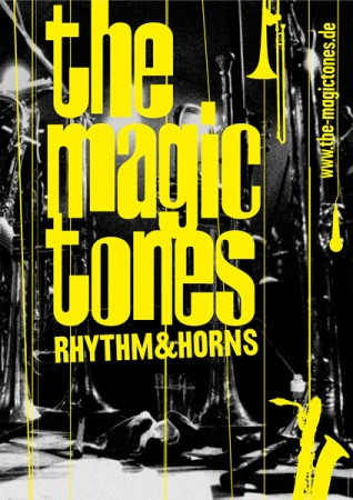 The Magictones Rhythm & Horns - Poster 2009