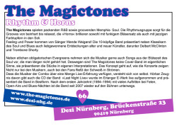 The Magictones in der DESI